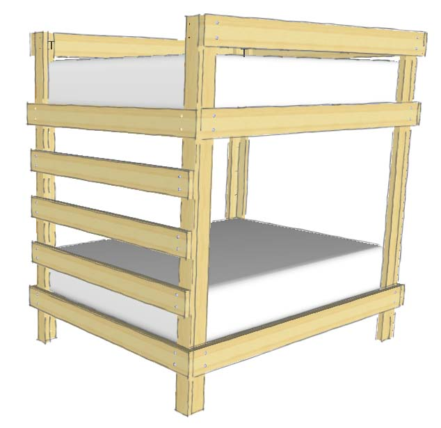 basic-bunk-bed-plans