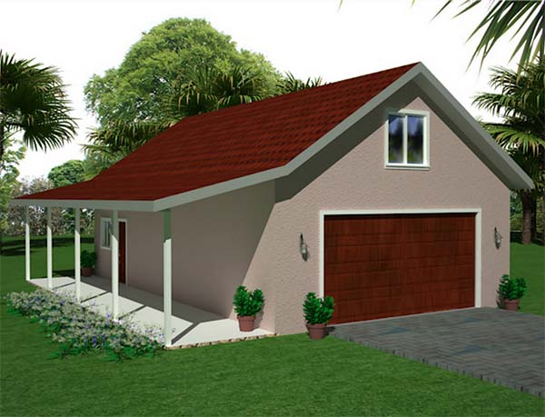 18 free diy garage plans with detailed drawings and for Garage plans with side porch