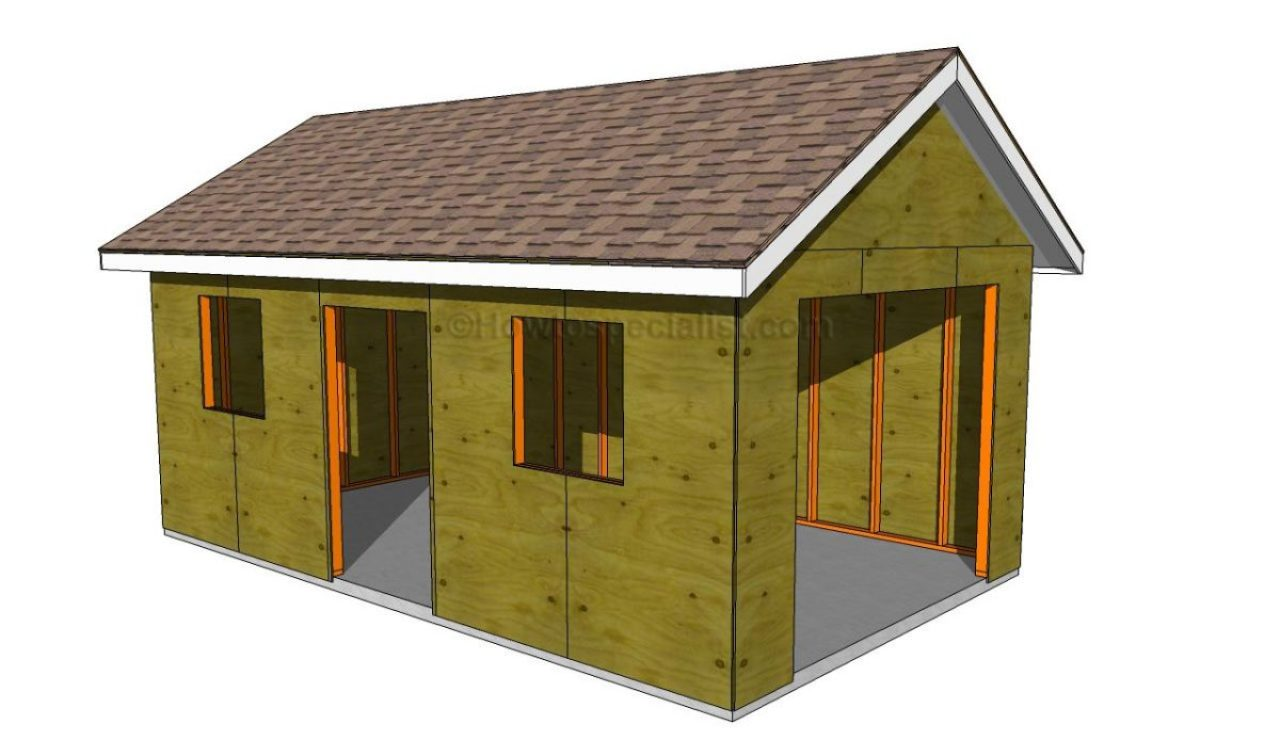 18 free diy garage plans with detailed drawings and instructions garage 6 2