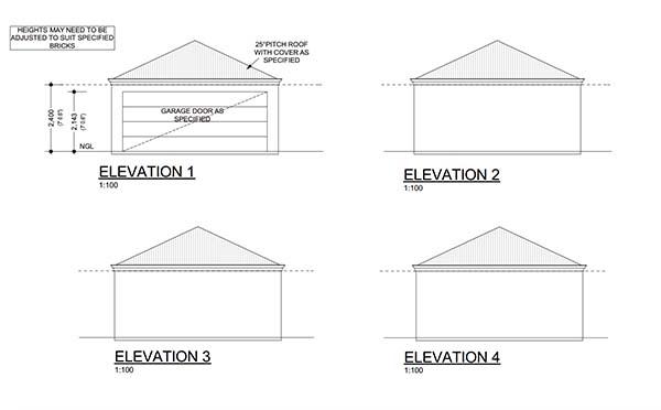 20×20 Workshop Plans