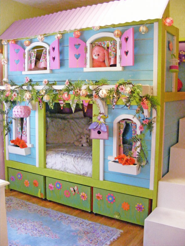 31 diy bunk bed plans ideas that will save a lot of for Beds for 13 year olds