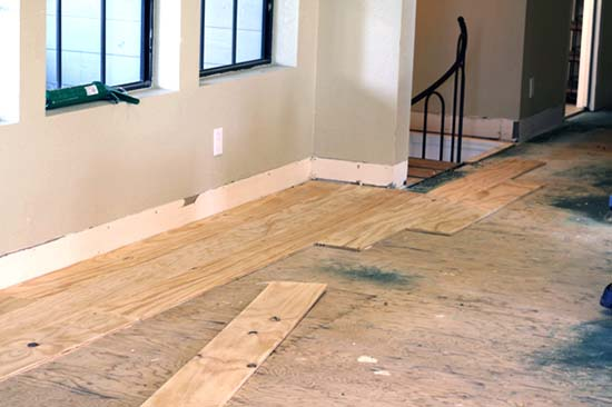 Diy cheap plywood flooring ideas for 100 in 7 easy steps for Cheap wood flooring ideas