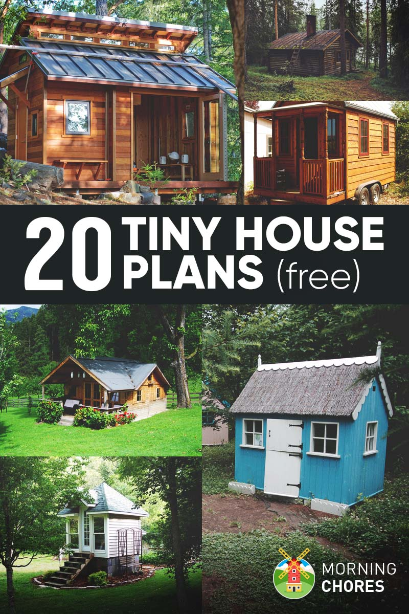 20 Free Diy Tiny House Plans To Help You Live The Tiny