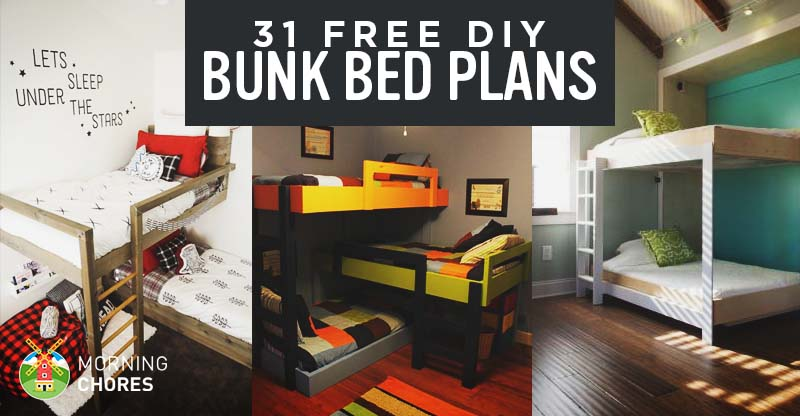 31 diy bunk bed