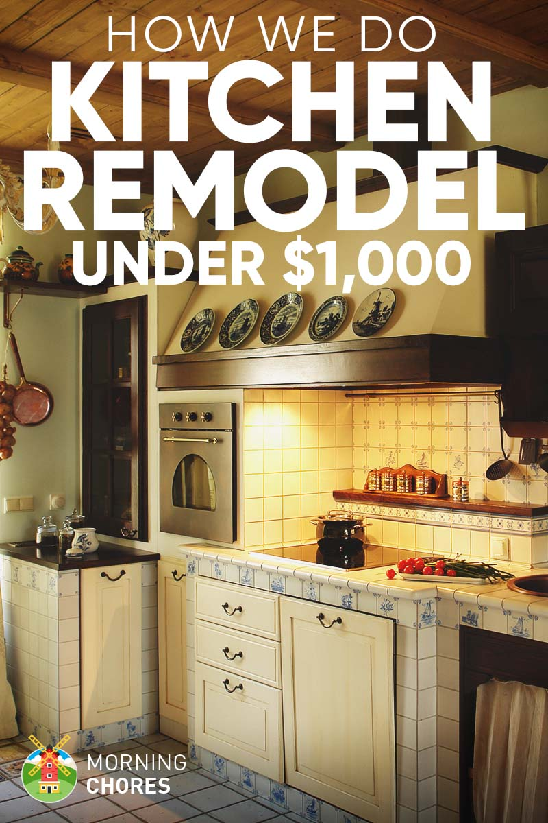 DIY Kitchen Remodel Ideas How We Do It for under $1,000