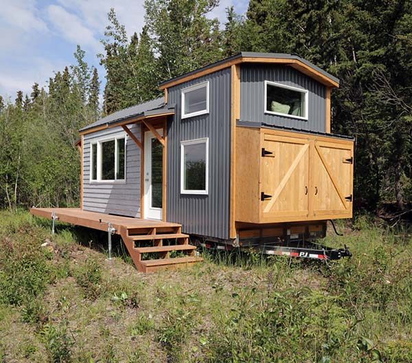 quartz tiny house - Tiny House Building