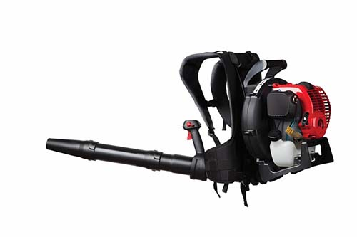 hitachi 23 9 cu cm 2 cycle 170 mph 441 cfm medium duty gas leaf blower. if you have a big garden and large volume of leaves to remove, then the troy-bilt 4-cycle backpack blower is best choice for your gardening needs. hitachi 23 9 cu cm 2 cycle 170 mph 441 cfm medium duty gas leaf e