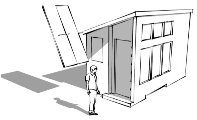 the tiny solar house - Tiny Home Design Plans