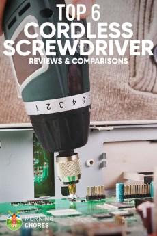 6 Best Cordless Screwdriver