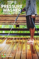 6 Best Pressure Washer for Home Use – 2017 Reviews & Buying Guide