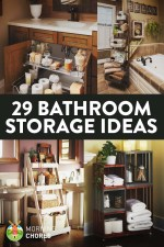29 Space-Efficient Bathroom Storage Ideas that Look Beautiful