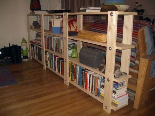 The Low-Waste Bookshelf - 51 DIY Bookshelf Plans & Ideas To Organize Your Precious Books