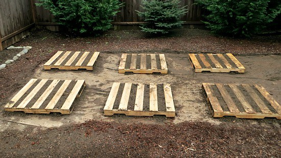 if you are working on a tight budget you may not have the funds to build above ground beds well dont let that stop you from gardening - Garden Ideas With Pallets