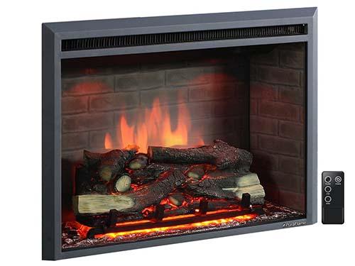 PuraFlame Western 33 Inch /Insert Electric Firebox Heater