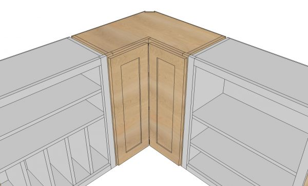 How Do You Measure For A Corner Kitchen Cabinet
