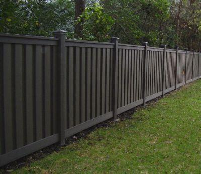 prefab-perimeter-fence-3 Backyard Fence Paint Colors