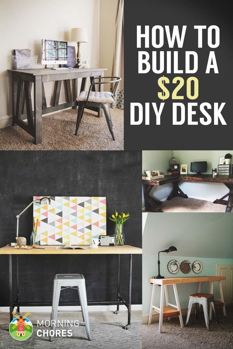 Cheap DIY Desk Ideas
