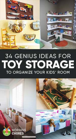 Quick Toy Storage Ideas Organization Hacks For Your Kids Room