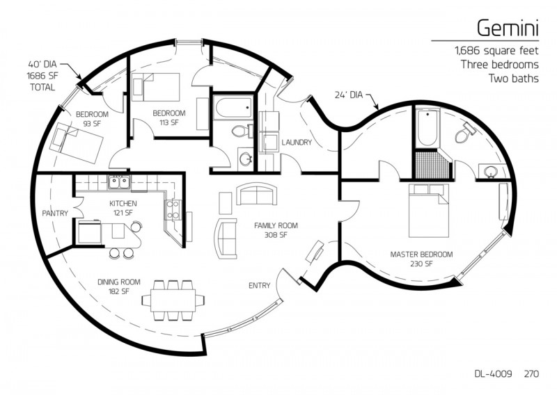 18 Beautiful Earthbag House Plans for A Budget-Friendly
