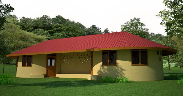 Beautiful Earthbag House Plans For A BudgetFriendly - Building earthbag house plans free