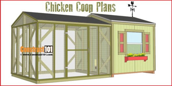 Awesome Large Chicken Coop Plans