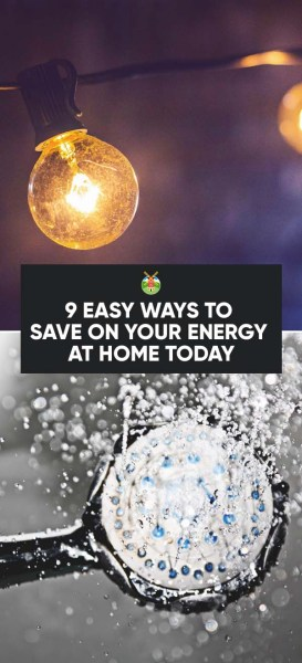 9 easy ways to save energy and money at home you can do for Ways to save for a house
