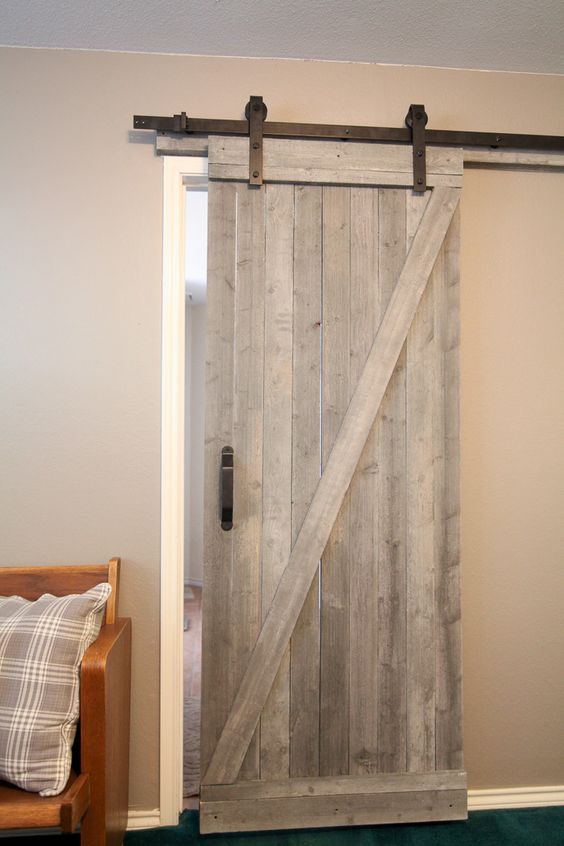 This Is A Traditional Style DIY Barn Door. If You Are Looking For A Way To  Create This Magnificent Look In Your Own Home, Then Youu0027ll Want To Check  Out This ...