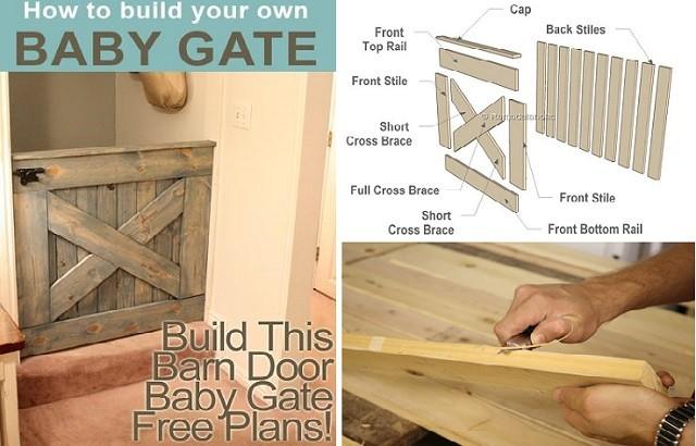 Diy Barn Door Baby Gate 640x410