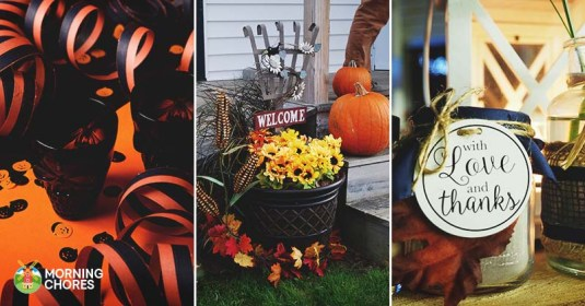 20 Ways to Decorate All Through the House During the Fall Holidays