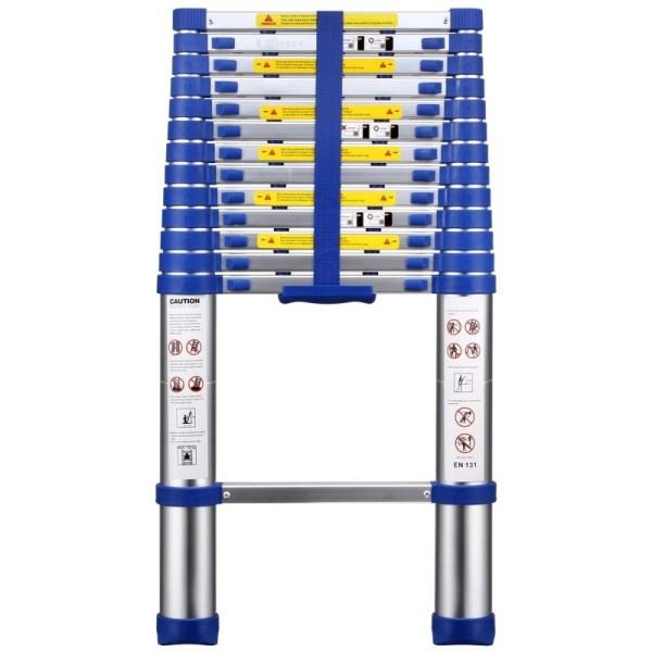 OLLIEROO TL03124 EN131 13.4-foot Telescopic Extension Ladder