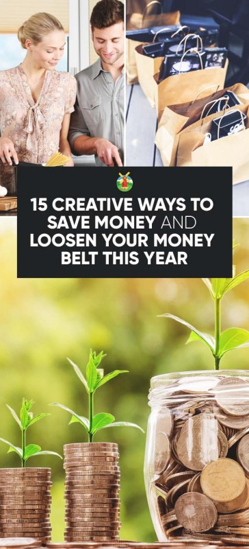 15 creative ways to save money and loosen your money belt this year. Black Bedroom Furniture Sets. Home Design Ideas