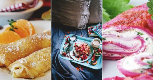 30 Great Crepe Recipes to Conquer Your Sweet or Savory Tooth
