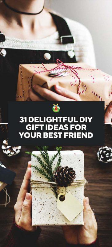 31 delightful diy gift