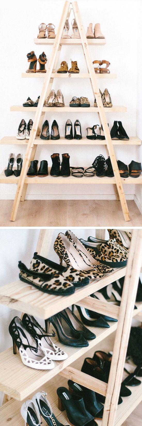 22 chaos eliminating diy shoe rack ideas