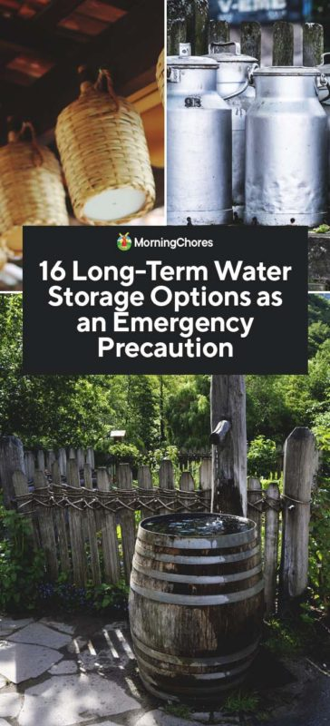 16 Long Term Water Storage Options As An Emergency Precaution