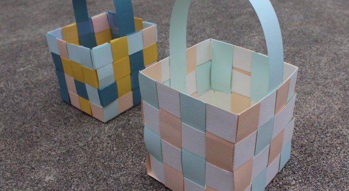Easter Baskets Paper