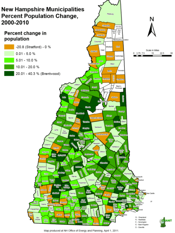 Eleven Maps That Explain New Hampshire39s Political Geography