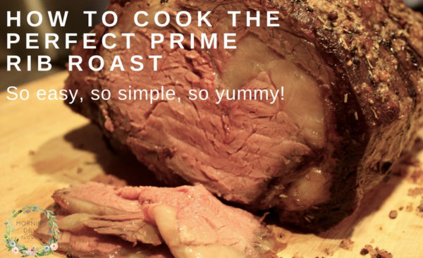 How to Cook the Perfect Prime Rib Roast so easy so simple so yummy