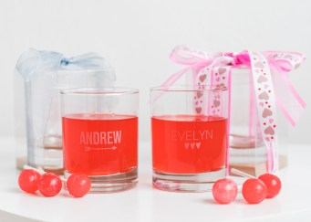 Valentine's day personalized favors
