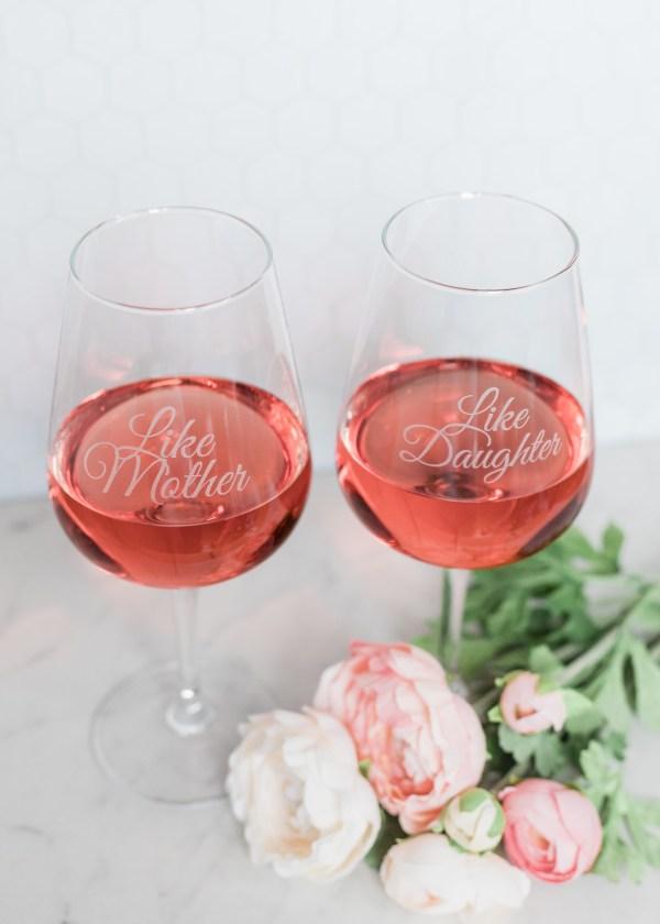 wine glasses for moms