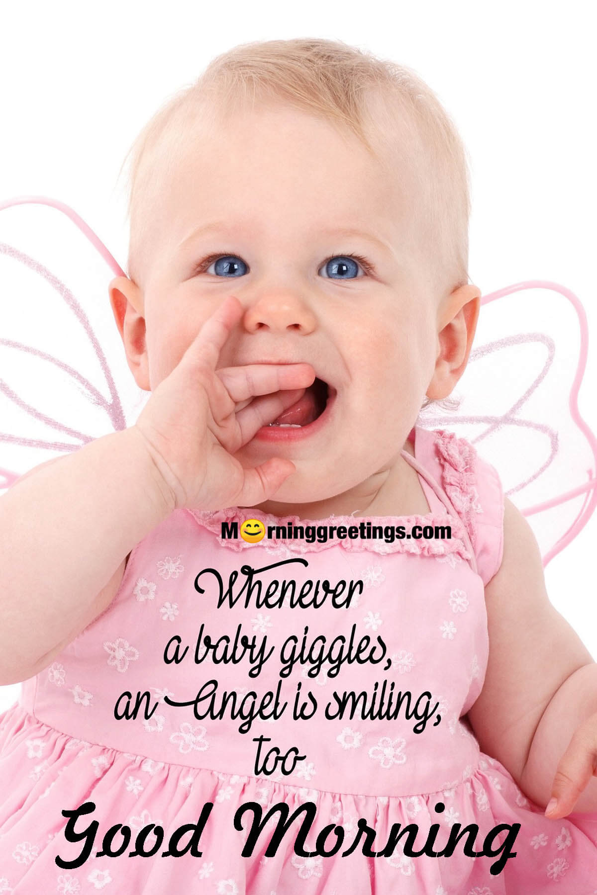 Baby Pictures Saying Good Morning : pictures, saying, morning, Morning, Angel, Quotes, Pictures, Greetings, Wishes, Images