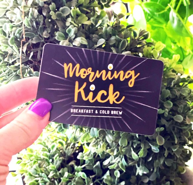 Morning Kick Gift Cards in Gilbert Arizona2