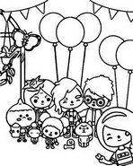 Toca Boca Life Coloring Pages - Printable Coloring Pages