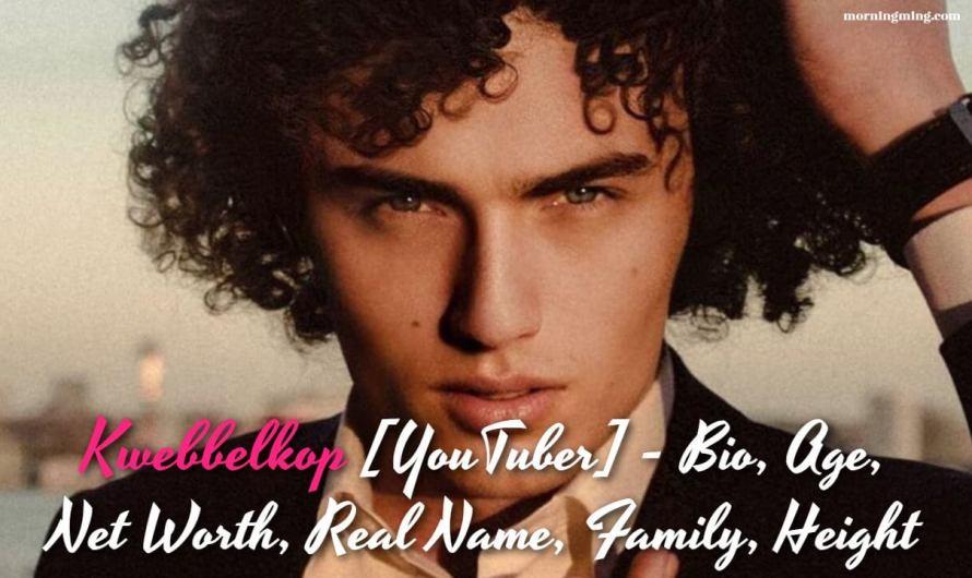 Kwebbelkop [YouTuber] – Bio, Age, Net Worth, Real Name, Family, Height