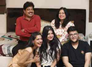 Shiny Dixit family