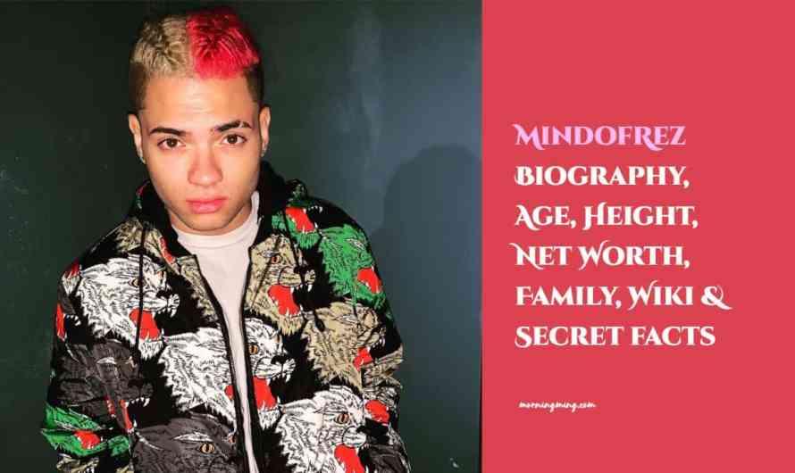 MindofRez Bio – Age, Height, Net Worth, Family, Wiki & Secret facts