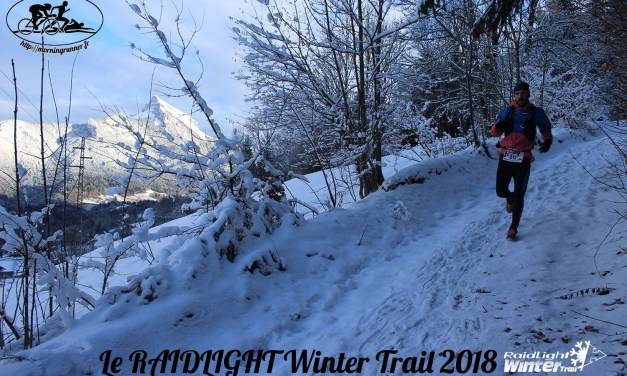 [COURSE] Le RAIDLIGHT Winter Trail (14km/650D+) | Run in snow !