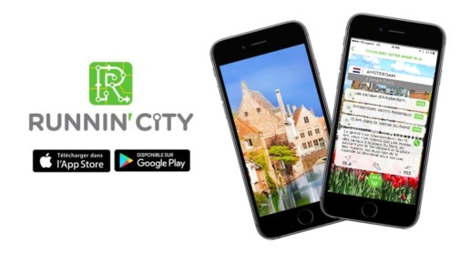 TEST L'application Runnin'City morning runner