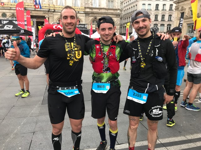 Lyon Urban Trail LUT 2018 morning runner
