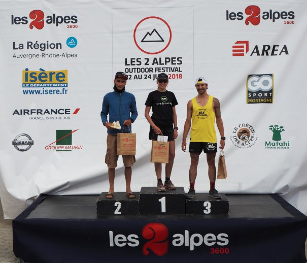 Les 2 alpes outdoor festival 2018 morning runner
